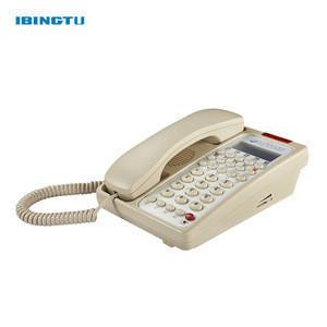 China Corded Landline telephone for hotel room bathroom supplies phone