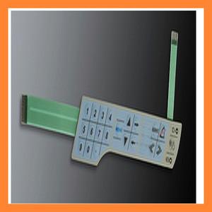 Custom embossed membrane keypad
