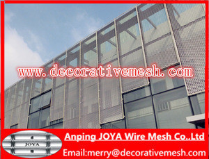 Decorative Aluminum Expanded Wire Mesh for curtain wall