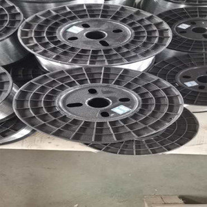 Factory Low galvanized iron coil wire hot dipped galvanized steel wire