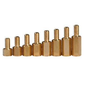 Factory price wholesale hex copper standoff male-female  spacer copper brass pillar