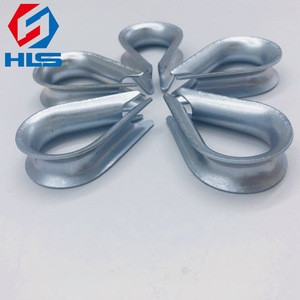 Factory sales Galvanized DIN 6899A Type Thimble