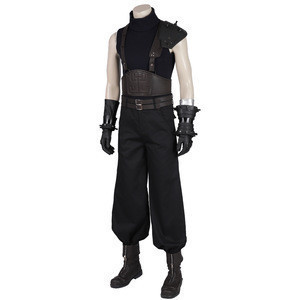 FINAL FANTASY 7 Cloud Strife  Cosplay Costume Adult Costume Set mzx 190287