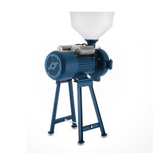 High quality commercial electric grain turmeric grinder machine Black bean grinder dry corn wheat flour mill