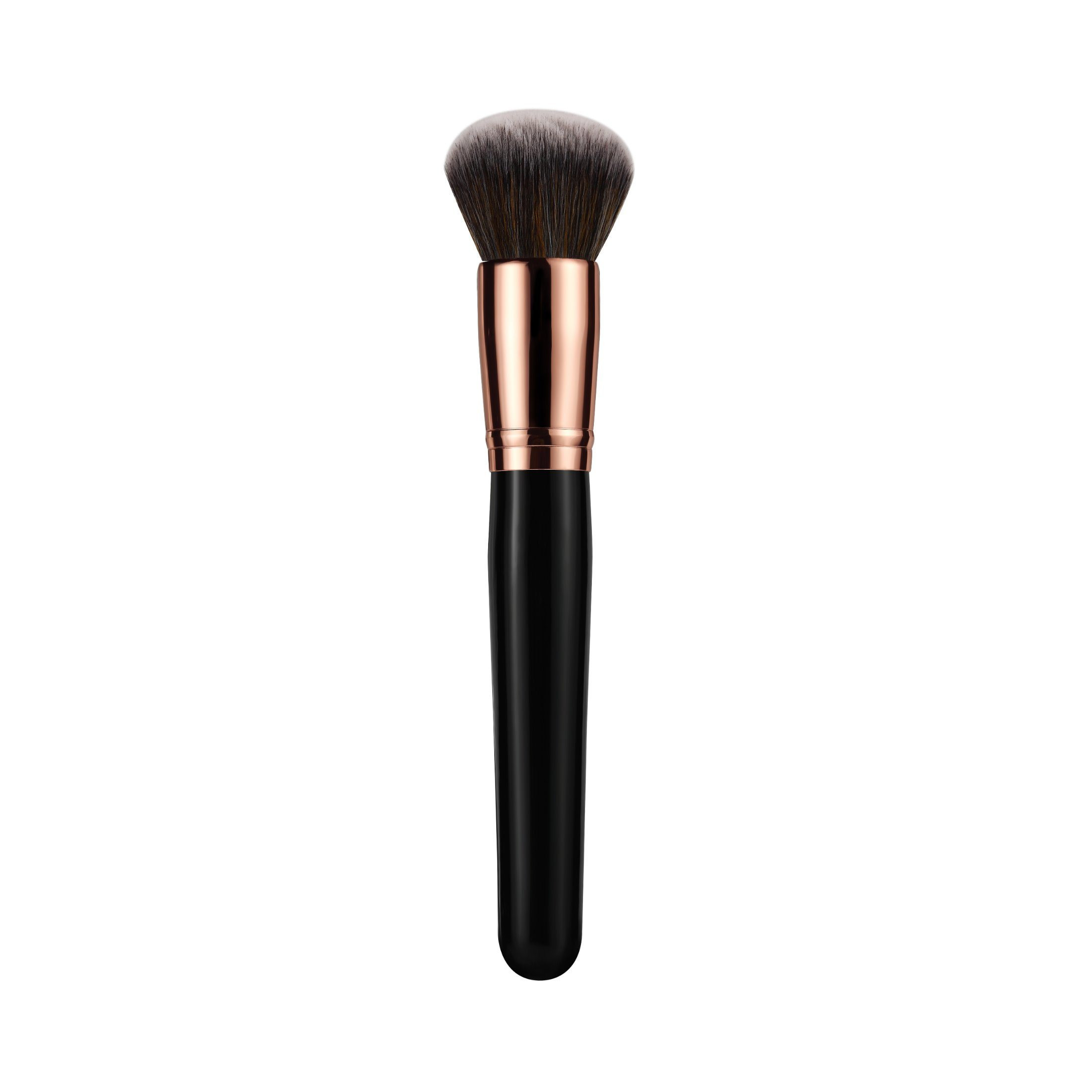 High Quality Natural Hair 12PCS Cosmetic Makeup Brush Set with Fold Pouch