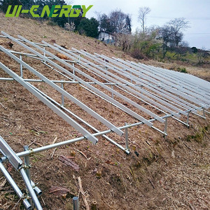 High strength steel pv mounting brackets for slope