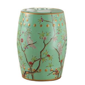 High Temperature Burning Glazed Chinese Ceramic Drum Seat Stool