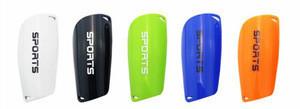 Hot sale PP shell custom soccer shin guard football shin guard