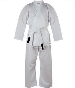 Karate Wears Jacket Pants Set White