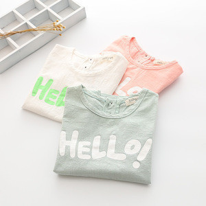Latest shirt designs for kids t shirt wholesale china o-neck short sleeve child tshirts