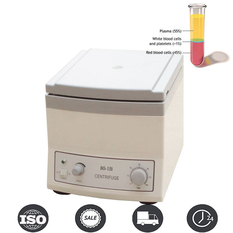 Low Speed Medical and Lab Centrifuge Machine with 6*20ml Tubes