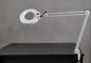 Magnifying Desk Lamp for Manicure Dental Table Top LED Magnifying Lamp