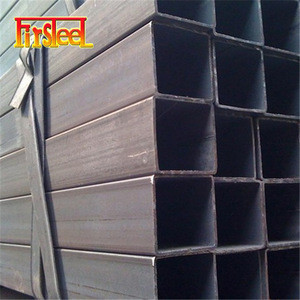 March EXPO discount offer ss400 Q195 welded Square/Rectangular Steel Pipe