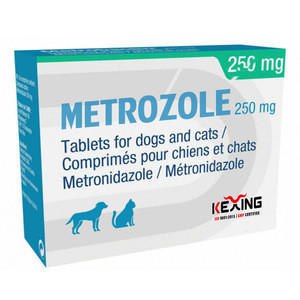 Metronidazole 250mg tablet for dog and cat