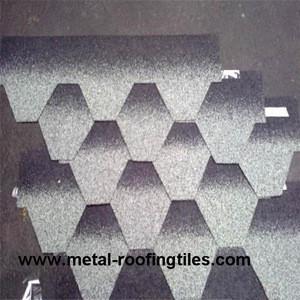 Mosaic type bitumen roofing tile