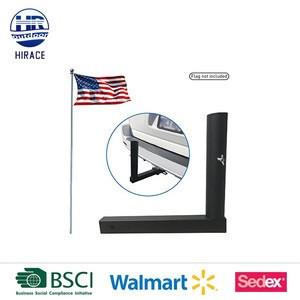 Mount Flag Holder Trailer Flag Pole Receiver Hitch Flagholder