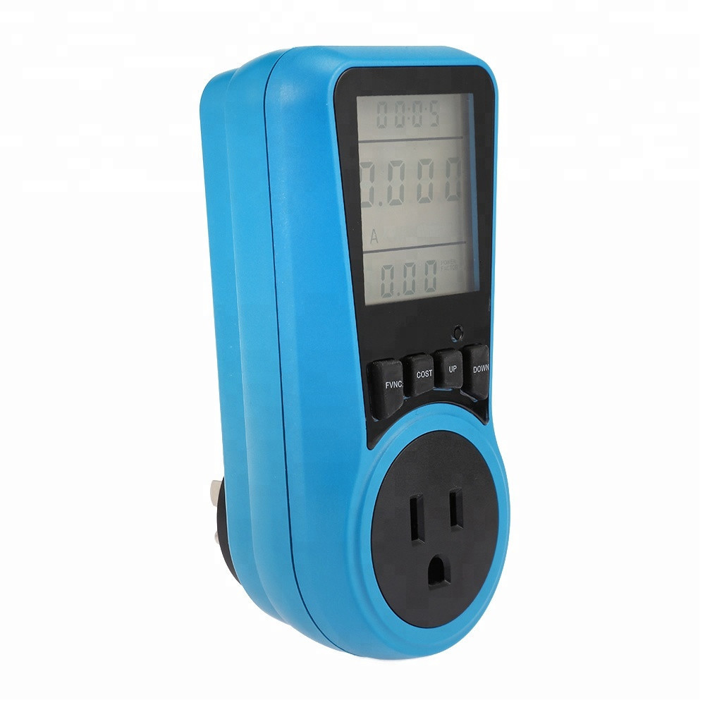 New 120V 15A  US standard power consumption measure device digital power meter