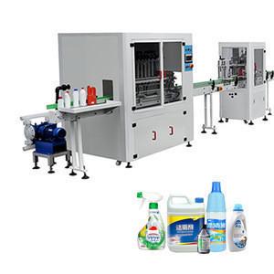 New Automatic Anti Corrosive Viscosity Bottle Detergent Bleach Toilet Floor Cleaner Liquid Filling Machine