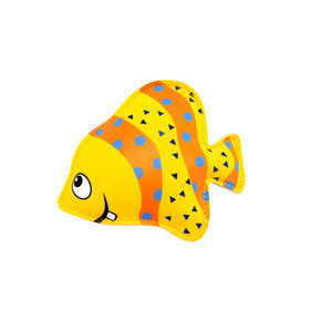 Pool Swimming Toys Neoprene Diving Animals Filling Sand Yellow Fish Dive Toy