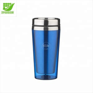 Promotional Customized Cheap Travel Mug Stainless Steel Auto Travel Mug