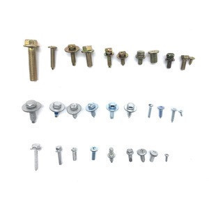 Screws for automobile fasteners of various sizes and styles