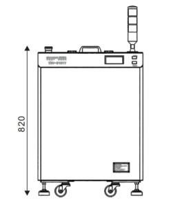SMIDA  High-quality planetary centrifugal defoamer vacuum mixing machine for adhesive agent TMV-310TT