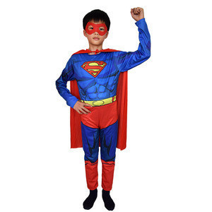 Summer thin single layer steel  man Cosplay costume stage performance children's performance costumes