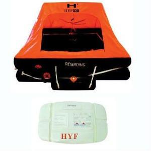 Throw-over inflatable life raft (RSHYF-U)
