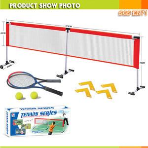 Toy tennis racket set,kid badminton racket,plastic funny racket set