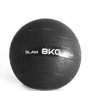 Weight Slam Ball by Day 1 Fitness No Bounce Medicine Ball - Gym Equipment Accessories for High Intensity Exercise