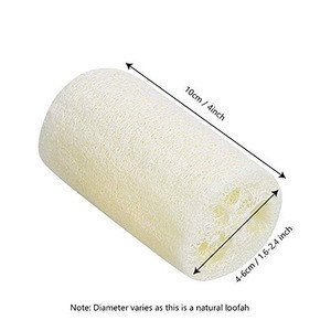 Whole Natural Loofah Vegetable Dish Scouring Pad for Kitchen Bath Sponge Body Exfoliating Scrubber Shower