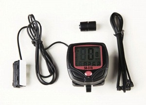 Wholesale stopwatch Digital LCD Bicycle Computer mechanical bicycle timer bike stopwatch