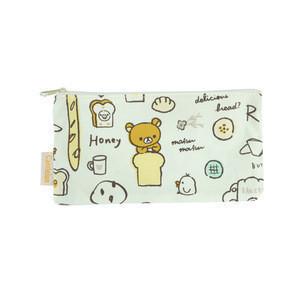 With Zipper Cheap Custom Print Canvas Cute Pencil Case