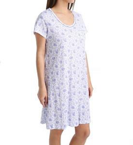 Womens floral printed nightshirt
