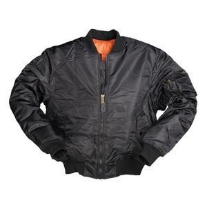 Womens Ladies Padded Satin MA1 Bomber Jacket Quilted Coat Winter Vintage Flight Jacket