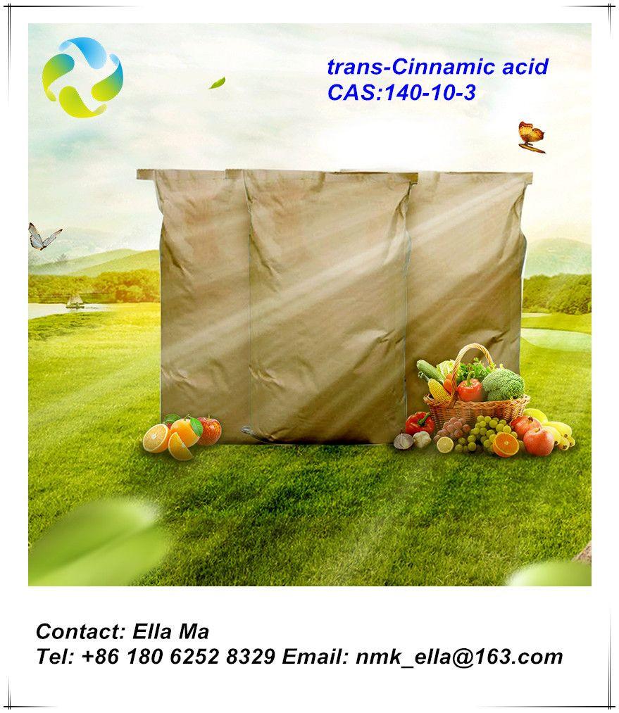 High quality 99% purity product Cinnamic acid