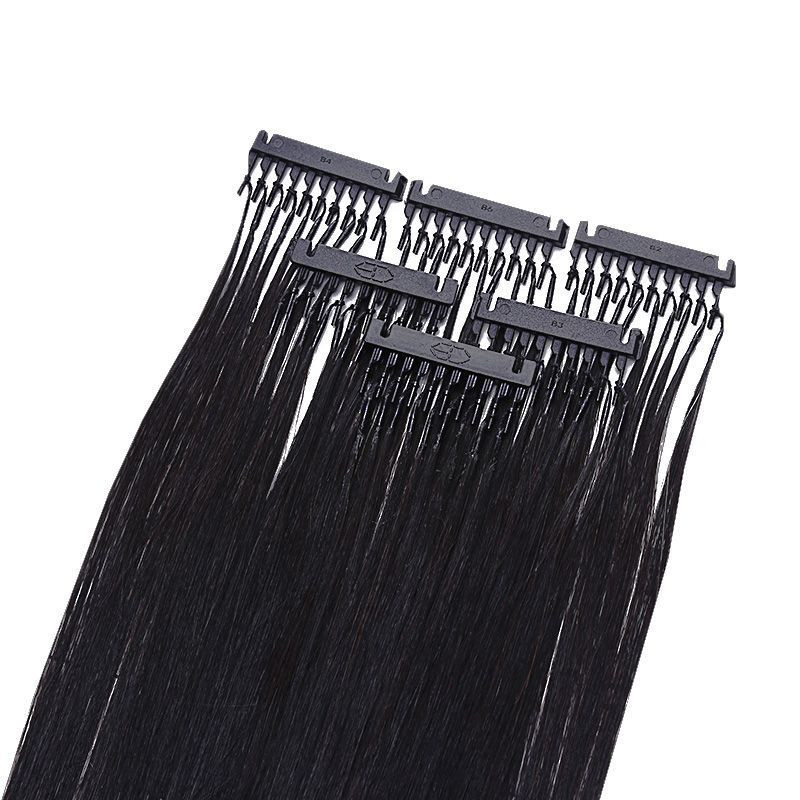 New Style Invisible 6D Human Hair Extensions For Women Remy Hair Extension Bundles Virgin Human Buckle Hair Extensions
