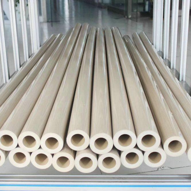 PEEK Tube Polyetheretherketone Round Pipe Tubing Piping Pipeline ICI Thermoplastic Pure PEEK450G PEEK450CA30 PEEK450GL30
