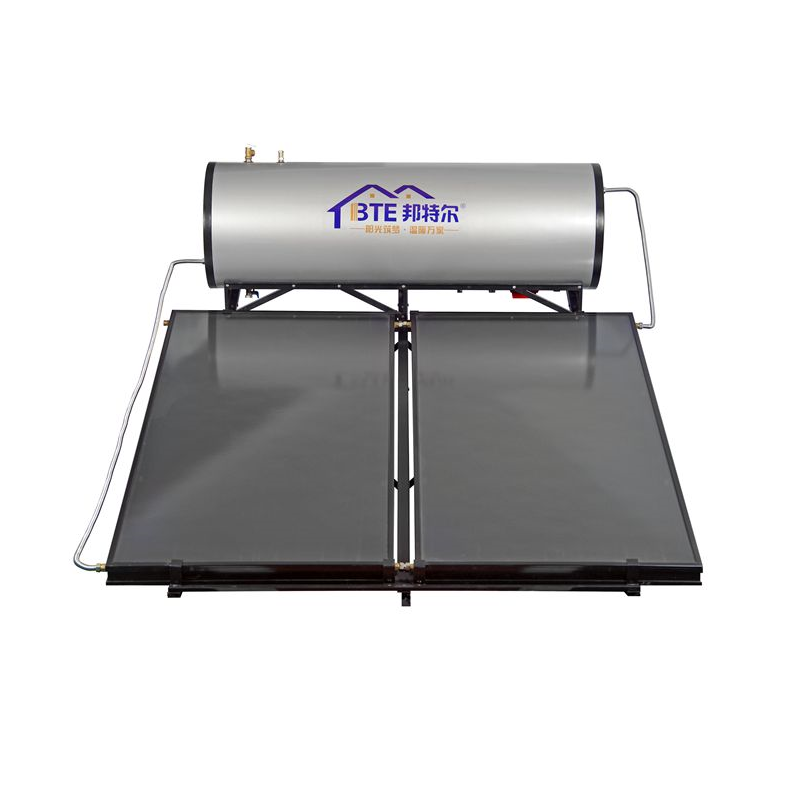300L compact pressurized solar water heater for 5-6people