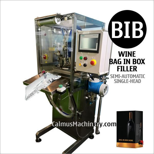 Boxed Wine Cocktail Packaging Machine Bag in Box Filling Equipment