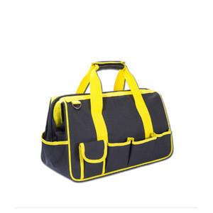 2018 high quality massive capacity canvas portable electrician Gardener tarpaulin tool bag