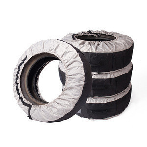 2020 OEM polyester Tyre Wheel Cover Waterproof Car Storage Spare wheels tires and accessories tire cover