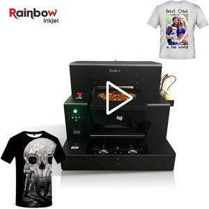 2020 trending products a3 cotton wool fabric nylon t-shirt dtg printer with factory price