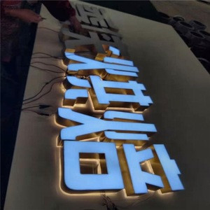 3D Lighting Acrylic Mini LED Channel Letter Sign/Bending Machine Making Acrylic Face Lighting Letters