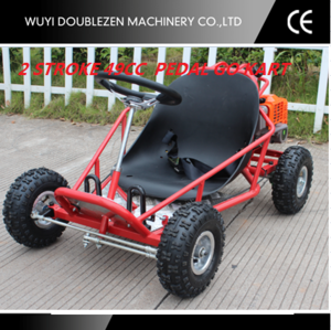 49CC mini kart for children with foot pedal and foot brake