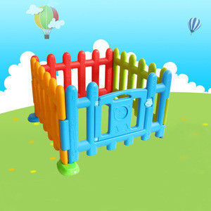 75 cm high baby play yard safety fence plastic playpen PE kids large baby playpen