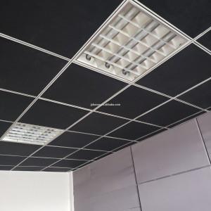 Acoustic panels Factory price sound acoustic treatment fiberglass ceilings board decorative interior