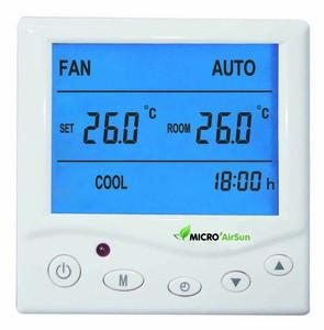 Air conditioner thermostat Smart HVAC Modbus Thermostat Motorized Valve Thermostat