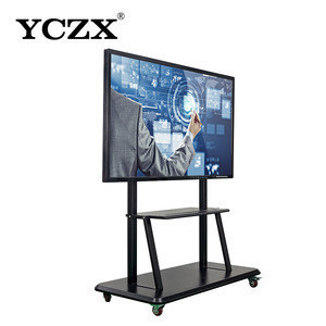 All-in -one pc 55 inch intelligent whiteboard 80 interactive flat panel