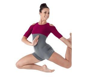 Block Leotards Dancewear E16009